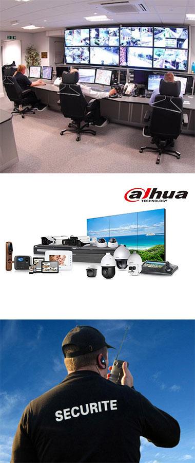 Caméra de surveillance à la Réunion
